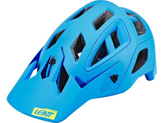 Leatt Brace DBX 3.0 All Mountain Helmet blue